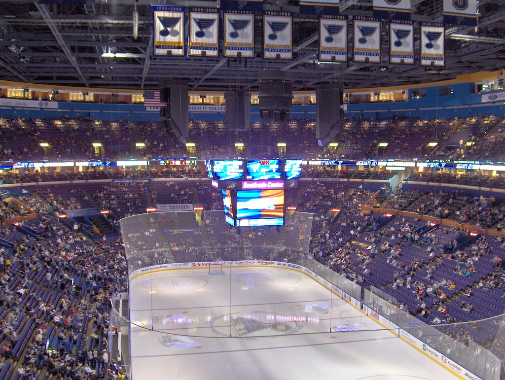 Blues Seek St Louis Arena Upgrades After Departure Of