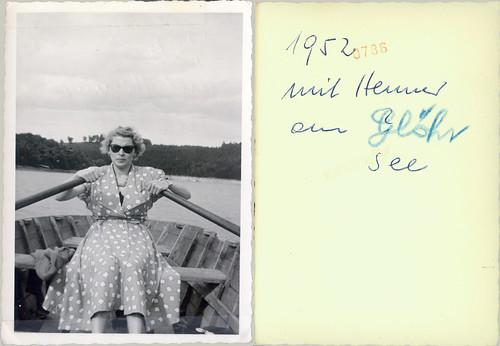 1952 mit Herniel our glohr see