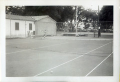 In the far court-the champ