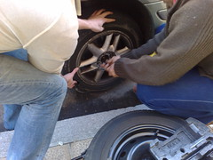 tire, automotive tire, automotive exterior, wheel, auto mechanic, rim, mechanic, alloy wheel, spoke,