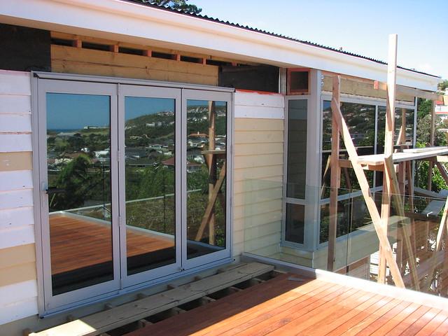 New Patio Doors New Bay Window Flickr Photo Sharing