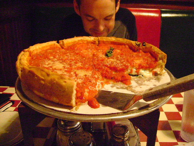 ... deep pan pizza stay away all you new york cardboard pizza