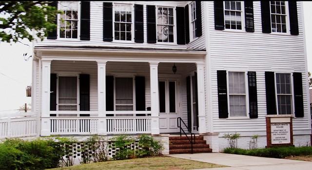 Humber white house milledgeville georgia flickr for Oconee capital home builders