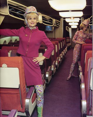 Braniff Emilio Pucci Flight Attendant Uniform