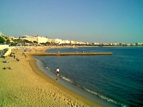 Cannes Beach Croisette