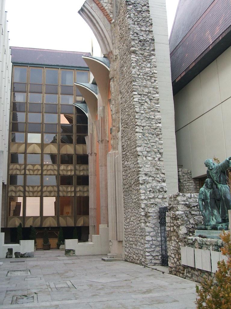 Church Ruins, Hilton Hotel, Budapest
