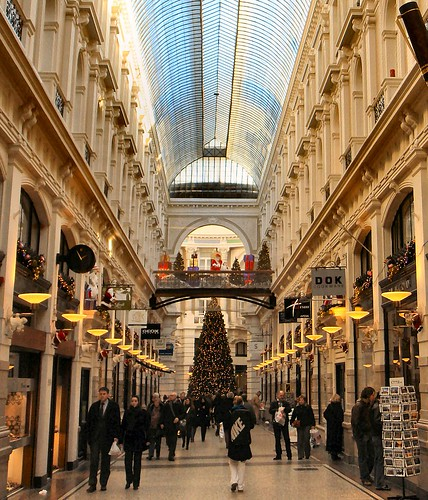 Christmas in De Haagsche Passage, The Hague, The Netherlands