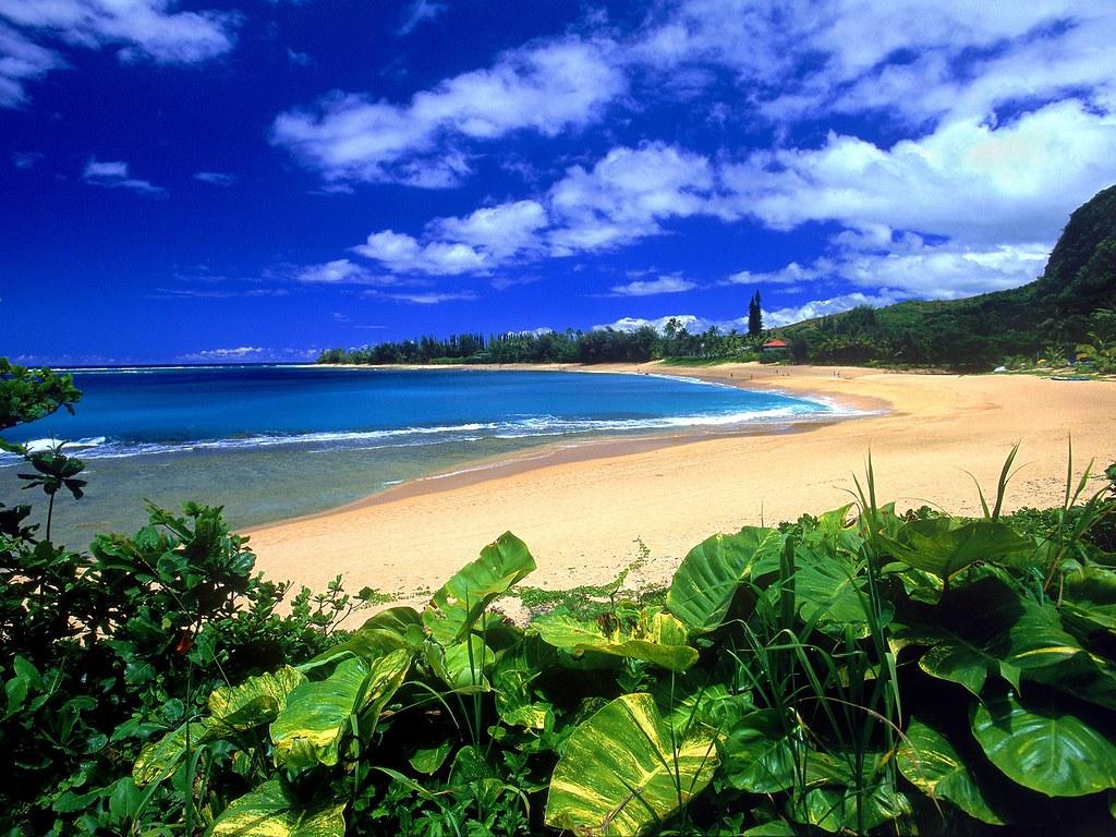 Хаена Haena пляж