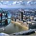 """London 002. """"London Eye & Big Ben"""" by Jose A.G.H."""