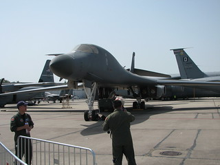 Front: Rockwell B-1B