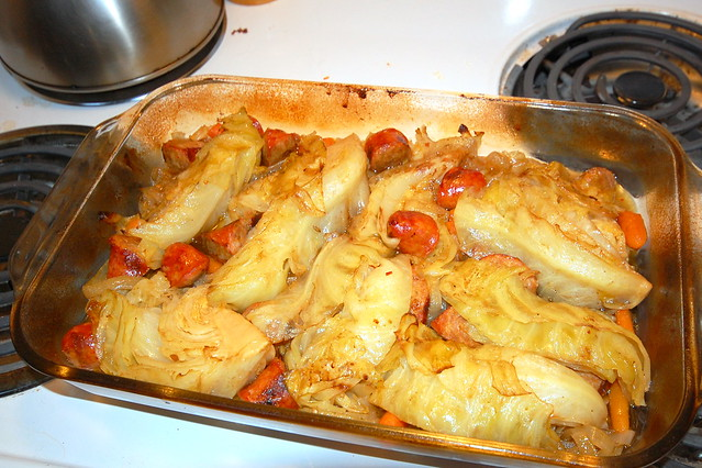Braised Cabbage and Sausages | Flickr - Photo Sharing!