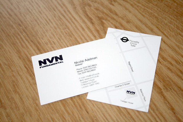 NVN Fundamental, business card, logotype, stationary, identity