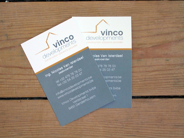 Business Cards VincoDevelopments