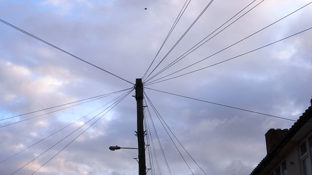 English telephone cables in Dagenham Heathway