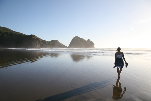 Piha beach, New Zealand