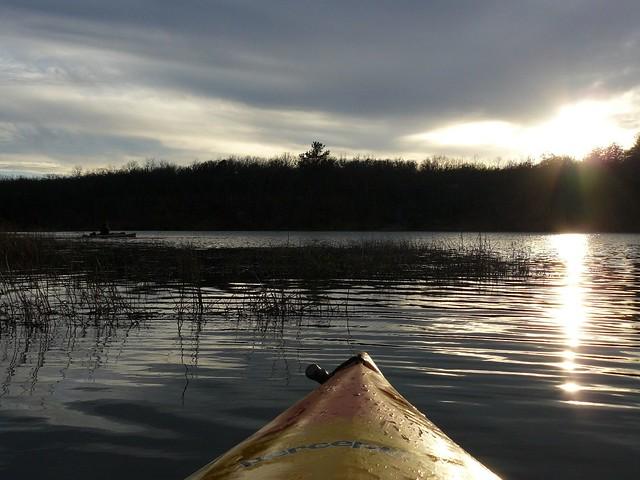 Kayaking Nichols Park Lake