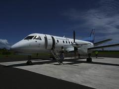 Flight from Rarotonga to Aitutaki (Cook Islands)