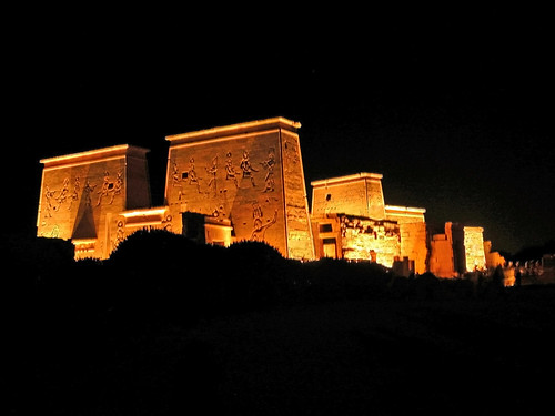 The Philae Temple, Aswan, Egypt.