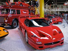 race car(1.0), automobile(1.0), vehicle(1.0), performance car(1.0), automotive design(1.0), ferrari f50 gt(1.0), auto show(1.0), ferrari f50(1.0), ferrari s.p.a.(1.0), land vehicle(1.0), luxury vehicle(1.0), supercar(1.0), sports car(1.0),
