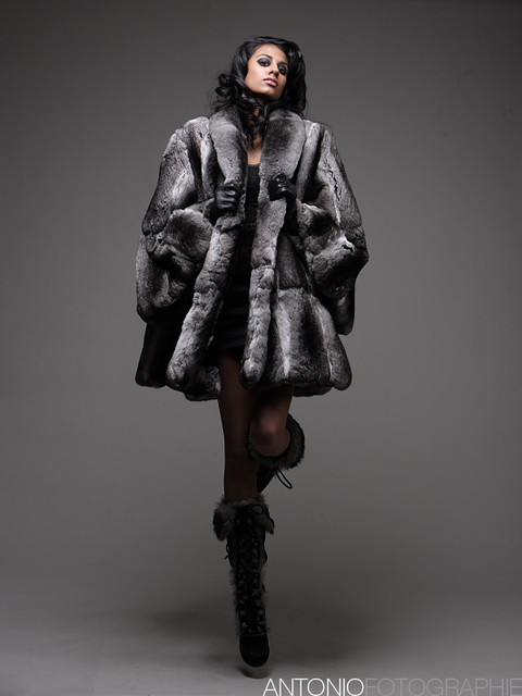 this is what a $45,000 coat looks like