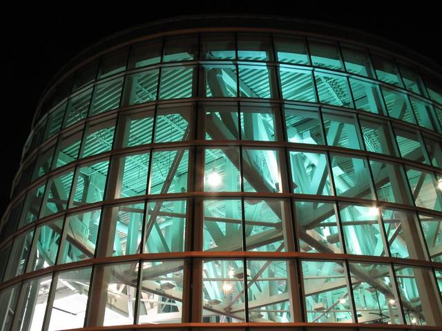 Kern Center Atrium Closeup