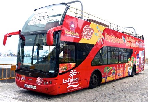 9575 GBG 'City Sightseeing Espana S.L.' Scania / Ayats Bravo on 'Dennis Basford's railsroadsrunways.blogspot.co.uk'