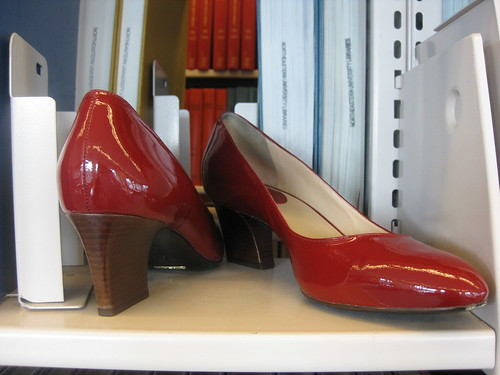 red cole haan heels