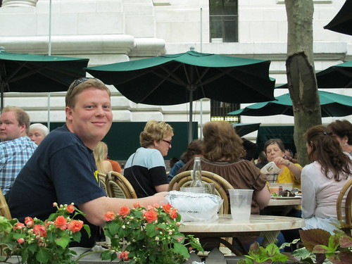 Dave at Bryant Park Cafe
