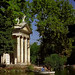"Small photo of Rome - Villa Borghese Park ""Temple Of Aesculapius"""