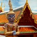Thailand - Bangkok - Grand Palace  - Temple guardian