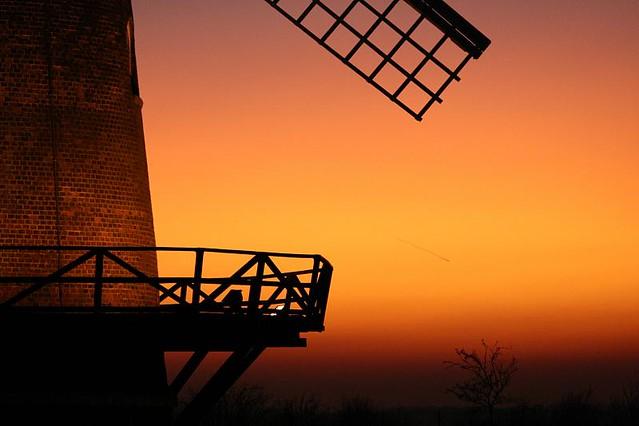 Sunset at Wilton Windmill Wiltshire