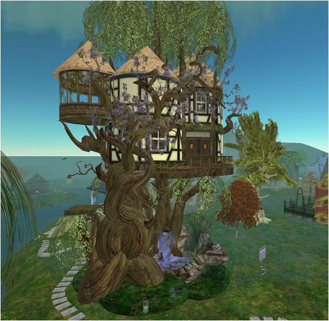 Creative Fantasy Treehouse Flickr Photo Sharing