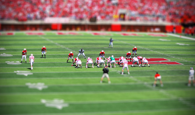Tilt Shift Football