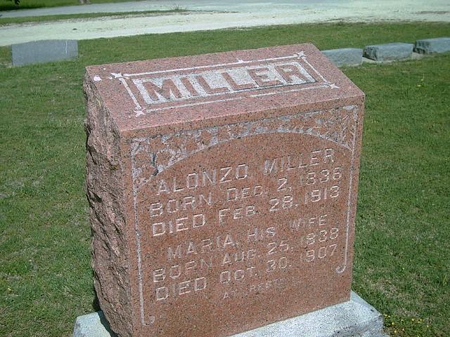 Header of Alonzo Miller