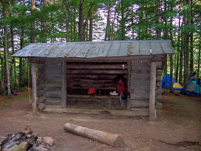 That deer lick shelter on appalachian trail