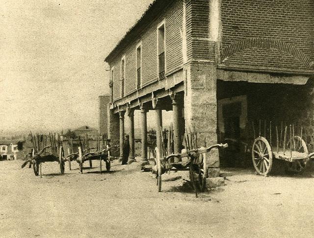 Ávila. Plaza de la Feria. Posada del Tio Goriche.