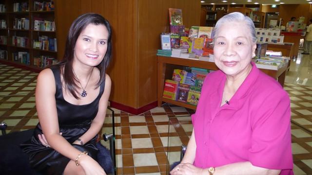 Interviewing Socorro Ramos
