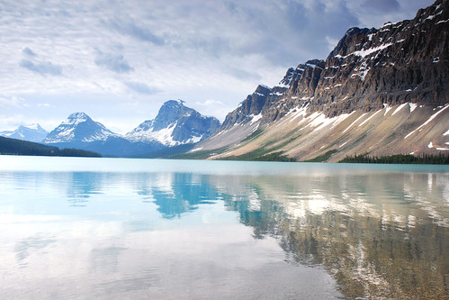 Bow Lake Reflectons