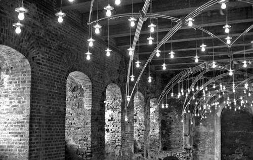 lighting blackandwhite brick museum architecture denmark europe kolding canonpowershota520 johannesexner ingerexner