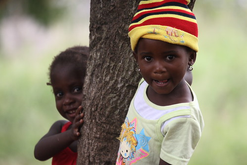 Two girl child, Mozambique, Africa