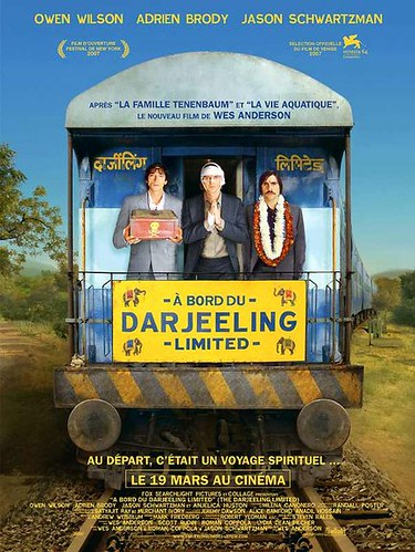"""A bord du Darjeeling limited"""