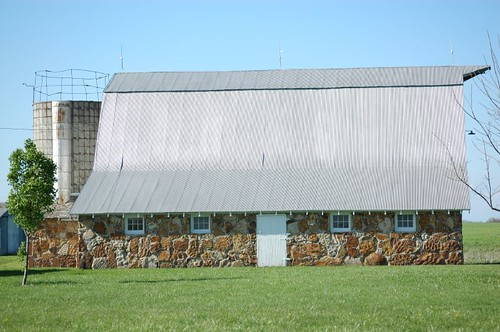 Old rock barn