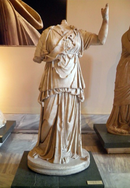 Statue of Athena, from the Temple of Athena at Magnesia Ad Meandrum, Istanbul Archeology Museum