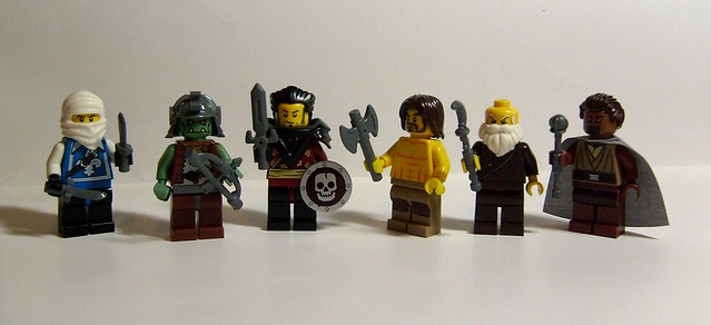 Heroica Weapon Minifigs