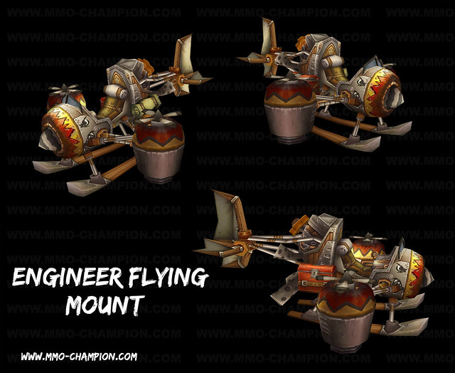 Wow engineer flying mount flickr photo sharing