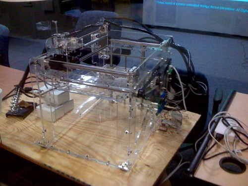 Fab Home Make Your Own 3d Printer