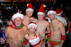 017 Santa Speedo Run 2007