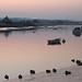 Topsham - upriver at dusk