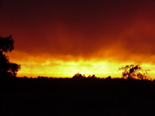 sunset sansboismountainsoklahoma