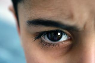 -- angry eye --